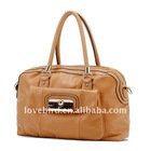 Lady fashion leather hand bag and shoulder bags with PU