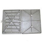 casting aluminium heating board(8 heating tube)