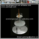 Top sale Spcial design thre levels acrylic cosmetic display