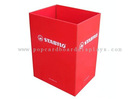 red paper carton box