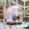 2012 wedding snow globe / snowing globe