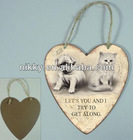 hand painted wall plaques, antique hang wall plaque, custom plaque my dog
