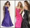 E307 Vogue Taffeta Prom Dress/ Bridesmaid Dress