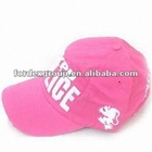 Children's Cap with Embroidery Printing, Made of Cotton, Fashionable Design