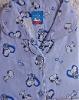 cotton printed flannel pajamas