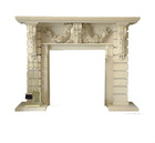 2012 hot sale Modern design fireplace(sandstone)