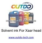 Solvent ink for Xaar 128/360pl head