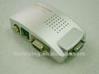 PC VGA to TV S-Video Signal Converter Box For PC Notebook