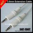 3.5mm Stereo Audio Extension Cable White