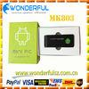 2012 best seller mini android tv box MK803