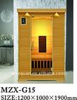 (G15) mini home wooden sauna cabin