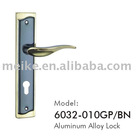 Handle Lock (Metal Lock, Zinc Alloy Door Lock)(6032-010GP/BN)