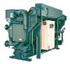 Steam fired LiBr absorption chillers