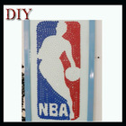 HOT!!! handmade NBA shape button craft