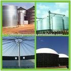 Liquid tank and silo