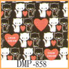 Animal and heart design luxury canvas fabrics