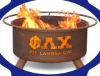 Phi Lambda Chi barbecue fireplace