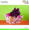 Custom metal fruit plate
