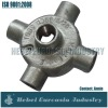 Galvanized Malleable Iron Steel Wire Cable Box 4 Way