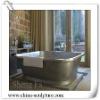 Hotel Decoration/hammered copper bathtub