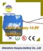 HuaYou 2011 News Li-ion 18650 6600mAh 14.8V Rechargeable Battery Pack