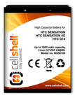 mobile phone battery for HTC Sensation (4G)
