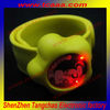 cheap custom silicone bracelets with kinds of led light color