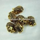 brass buddha beads for bracelet