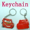 plastic car keychain