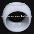 home decorative ceramic white fragrance lamp