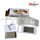funtional plastic grater with container