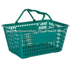HDPE supermarket hand shopping basket
