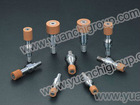 vitrified CBN mounted points for small hole Ceramic bond CBN grinding wheels head for air condition