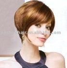 Cheap layered Bob Sweeping Side Short Fringe Parker Wigs