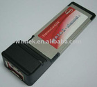 EXPRESSCARD/34mm ESATAII 2PORTS Hot sale