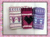 Fashion cute warm knitting pattern mitten
