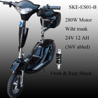 Electric scooter 250w,280w,300w motor abled