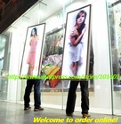 Ja1-594 New media indoor/outdoor silk fabric banner with high bright LED light