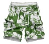 2012 Customized Newest Mens/Boys Polyester Microfiber Assorted Colours Swimming Beach Shorts
