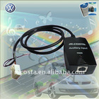 Car auxiliary iPod adapter aux in (CE/FCC/RoHS approved)
