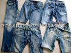 Men's cotton fancy denim jeans pants