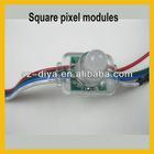 WS2801 5V 12mm full color square led pixel modules for led letter