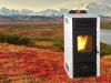 YW22-F modern pellet stove