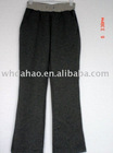 long casual design ladies pants