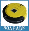 Yellow color Multifunctional Robot Vacuum Cleaner,LCD,Touch Button,Schedule Clean,Virtual Wall