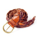 exquisite fashion designed exquisite favorable brown leather belt