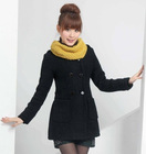 lady two season coat winter 100 wool