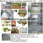 quilting machine, production line for quilt, carding machine, ball fiber machine, pillow filling machine