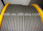 Duras high quality Wire Rope for Hoist from Largest Factory in Guizhou China 6*19s+IWRC