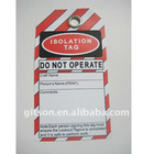 DO NOT OPERATION PVC Tag